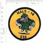 MALS-14 Marine Aviation Logistics Sq ns me $3.00