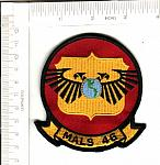 MALS-46 Marine Aviation Logistics Sq ns me $3.00