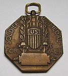 Army Soldier's Medal -no ribbon- reverse. $20.00