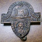 Odd Fellows  Grand Lodge Meeting 1907 medal $25.00