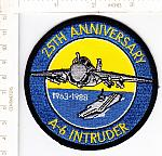 A-6 INTRUDER 25th Anniversary 1963-1988 ns me $3.00