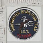 UDT Underwater Demolition Team VET me ns $3.00