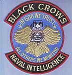 Naval Intelligence BLACK CROWS ce ns $3.00
