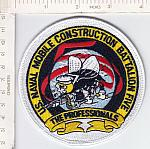 Seabees patch 5 Bn The Professionals me ns  $5.99