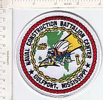 Seabee patch Mobile Bn The First and The Finest  me ns $4.25