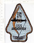 SSN 678 USS ARCHERFISH ce ns (oldie)  $10.00