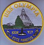 USS Olympia SSN 717 me ns $3.00