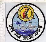 USS San Diego AFS-6 (200th Anniversary) me ns $5.00