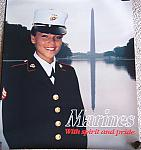 Woman Marine recruiting poster $3.00