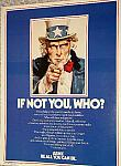 WW2 repro Uncle Sam enlistment poster 1984 $3.00
