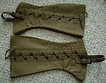 WW 2 Army uniform leggings (pair) used  $20.00