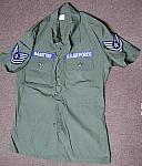 Vietnam U.S. Air Force OD ripstop jacket (U-683A) $30.00