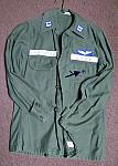 U.S. Air Force Vietnam uniform U725 OD Sateen $50.00